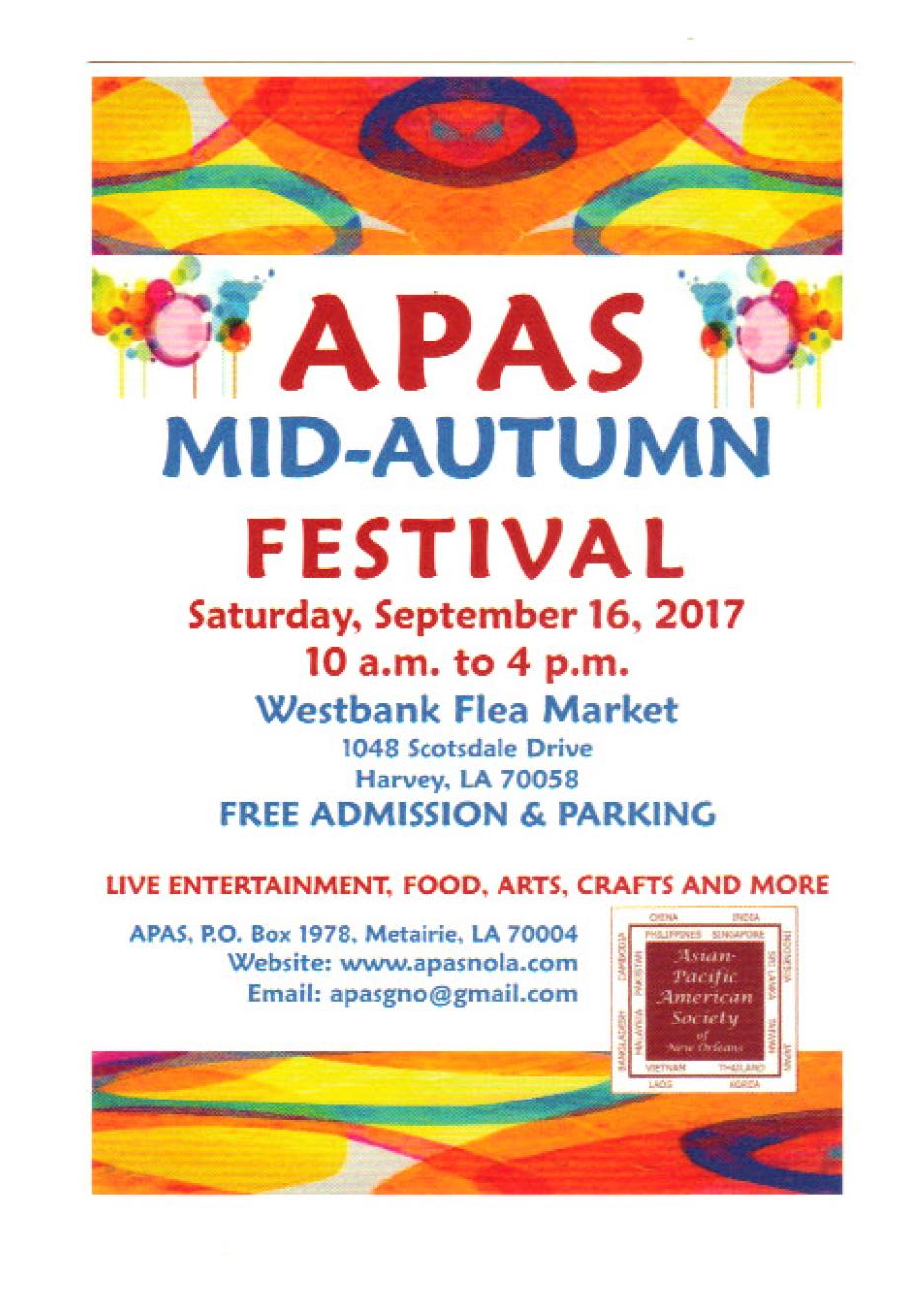 APAS Autumn Festival