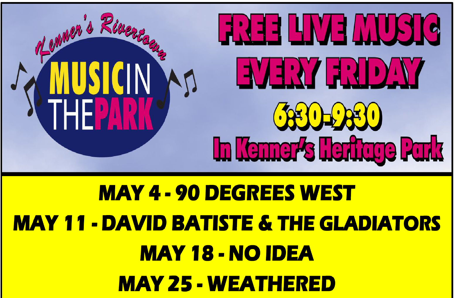 Kenner Music in the Park