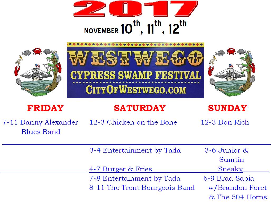 Westwego Cypress Festival